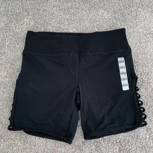 Forever 21 Cut Out Workout Shorts. NWT